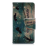 Star Enghter Pattern PU Leather Full Body Cover with Stand for Sony Xperia Z5 Compact