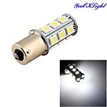 youoklight® 1pcs 3w 260lm 18 x SMD 5050 ha condotto bianco della lampada della luce di segnale auto / sterzo - (DC12V)