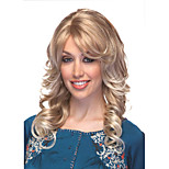 Bang Of Blonde  Loose Wave Wig Sale To Eurepean  Syntheic  Hair Wigs Extesions Popular