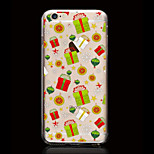 Christmas Gift Pattern Ultrathin TPU Soft Back Cover Case for iPhone 6S/6 Plus