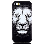 Lion TPU Material Cell Phone Case for iPhone 5/5S
