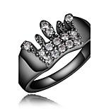 Hot Sale women black color wedding Promise Ring