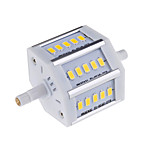 R7S 78MM 8 W 15 SMD 5730 720 LM Warm White / Cool White T Decorative Corn Bulbs AC 85-265 V