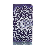 Pattern PU Leather Stand Case Cover with Card Slot for Sony Xperia Z3 / Z3 Compact D5803 M55w