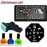 Christmas Nail Printing Set(6pcs/set)