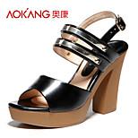 Aokang® Women's Leatherette Sandals - 132825148