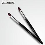 Stellaalpina Eyeshadow Brush Goat Hair Professional Wood Eye