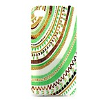 Semicircle Stripe Pattern TPU Soft Case for iPhone4/4S
