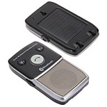 Car Solar Powered Bluetooth 2.1 Speaker Speakerphone Hands Free for Cell Phone