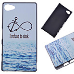 Marine Anchor Pattern PC Hard Cover Case for Sony Xperia Z5 Compact