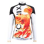 ilpaladinoSport Women Long sleeve Cycling Jersey New Style    CX601  Fire Phoenix  100% Polyester