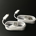 1.5M Samsung Data Cable for Micro USB Slot Devices - Non-Retail Packaging - White