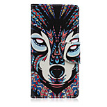 Color Fox Pattern PU Leather Full Body Cover with Stand for Sony Z5