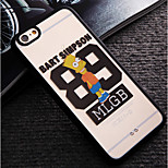 Simpson Pattern Acrylic Hard Cover Case for iPhone 6/iPhone 6S