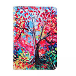 Colorful Printing PU Protective Case Cover with Stand for iPad Mini 4(Assorted Colors)