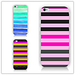 The Gradient Stripes Pattern PC Phone Case Back Cover Case for iPhone6