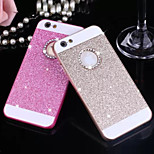 Solid Luxury Bling Glitter Cover Case with Back Hole for iPhone 6/6S(Assorted Colors)