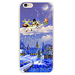 Christmas Carriage Pattern TPU Soft Phone Case iPhone 6/6S
