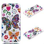 plus3d tpu de estilo minimalista pintado cubierta posterior iPhone6 suave