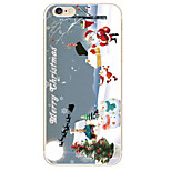 Christmas Snow Pattern TPU Soft Phone Case iPhone 6/6S