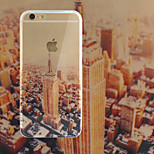 Empire State Building TPU+Acrylic Anti-Scratch Backplane Combo Phone Case for iPhone 6/6S