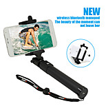 Sinnofoto S17 Wireless Selfie Stick Extendable Portable Monopod with Built-in Bluetooth for Iphone Android Phone