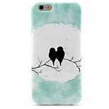 Bird TPU Pattern Back Cover Mobile Phone Protection Shell for iPhone 6/6s