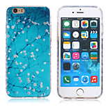 New Violence Cold Plum Pattern TPU Material Phone Case for iPhone 6 / 6S