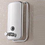 Contemporary Wall-mounted Bathroom Accessories Stainsteel Soap Dispenser(500ML)