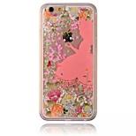 las doncellas celestiales esparcen flores shell caja del teléfono de la PC del diamante pintado para el iphone 6 / 6s