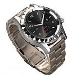 Stainless Steel Waterproof Bluetooth Smart Wrist Watch