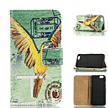 Parrot Design PU Leather Full Body Case with Card Slot  for iPhone 6/6S