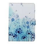 Cartoon Dandelion Pattern TPU+PU Flip Shell Phone Case For Ipad Mini