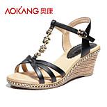 Aokang® Women's Leatherette Sandals - 132823885