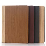 Newest Wood Grain Wallet Case Casual Style PU Tablet Protect Shell With Stand Holder for ipad pro 12.9 Assorted Colors