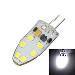 G4 Silicone 3W 200lm 3500K/6500k 12x SMD 2835 LED Warm/Cool White Light Bulb Lamp (AC/DC 12V)