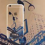 intersection TPU + acrylique anti-rayures cas backplane combo de téléphone pour iphone 6 / 6s