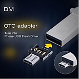 DM OTG adapter OTG function Turn into Phone USB Flash Drive Mobile Phone Adapters