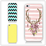 Color Pattern PC Phone Case Back Cover Case for iPhone5/5S