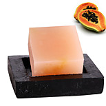 ALL BLUE High Quality Summer Hot Style Papaya Oil Soap Abundance Beautiful Buttock Soft Beautiful Skin Facial Soap