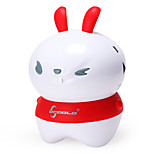 OPPOOLP Rabbit Shape Portable Bluetooth Speaker with Massage Function(Assorted color)