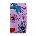 Decorative Pattern Painted PU Phone Case for Huawei P8