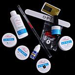 11pcs Phototherapy Color Glue DIY Tool Kit