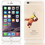 Cartoon Clash of Clans Pattern PC Hard Back Cover Case for iPhone 6S/6 Plus