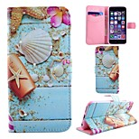 Diamond Painted Shell PU Phone Case for iphone 6/6S