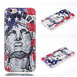 Free Goddess Head Pattern Phone Shell Thin TPU Material for iPhone 6/6S