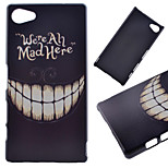 Smiling Teeth Pattern PC Hard Cover Case for Sony Xperia Z5 Compact