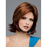 Top Quality  European Women Lady Secondary Color  Syntheic Wigs From Stock