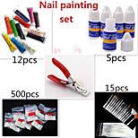 1Set Nail Painting Set