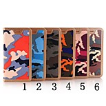 Camouflage Pattern High Quality Cowboy Wallet Leather Case for iPhone 5/iPhone 5S(Assorted Colors)